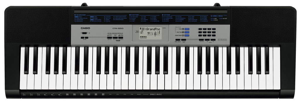 Синтезатор Casio CTK-1550: фото